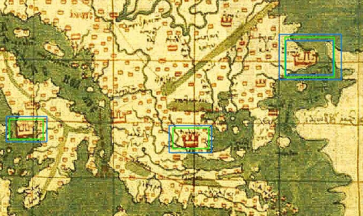 Σπάνιος Ελληνικός Χάρτης Φυλάσσεται στη Μυστική Βιβλιοθήκη του Βατικανού (εικόνες)