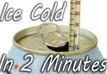 Πώς να Παγώσετε ένα Ζεστό Αναψυκτικό σε 2 Λεπτά… (video)
