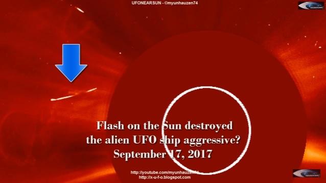 Ο Ήλιος Απόλλων Καταστρέφει Εξωγήινο Σκάφος των Αποστατών (video)