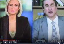 Αυτή η Ελληνίδα ρεπόρτερ είναι Ερπετοειδές; (video)
