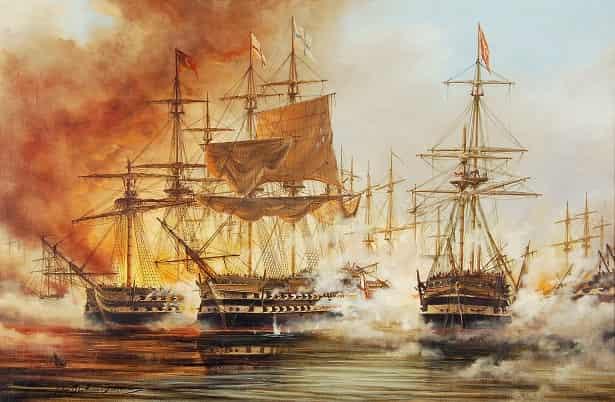 Η ιστορική Ναυμαχία του Ναβαρίνου
