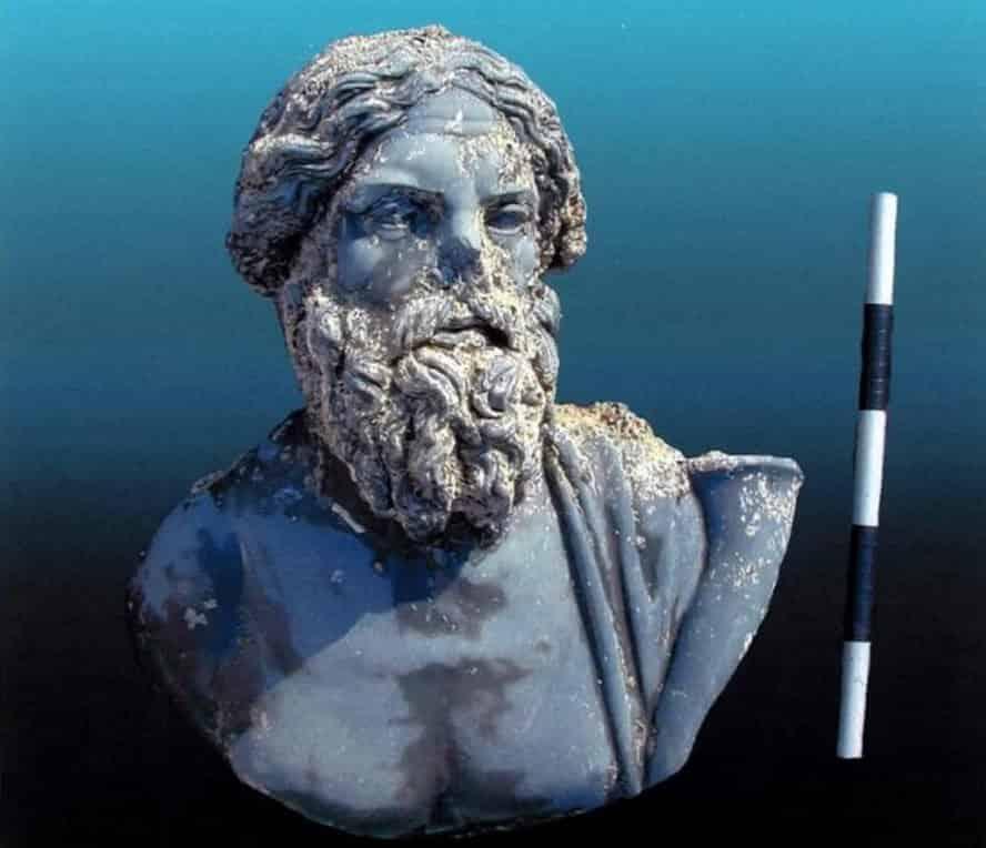 Τα Εκπληκτικά Ευρήματα Βυθισμένων Αρχαίων Ελληνικών Πόλεων στο Δέλτα του Νείλου (εικόνες)