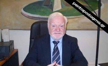 """Ο Νίκος Κατσαρός είναι επιστημονικός συνεργάτης του Ινστιτούτου """"Δημόκριτος"""" και πρώην πρόεδρος της Ένωσης Ελλήνων Χημικών."""