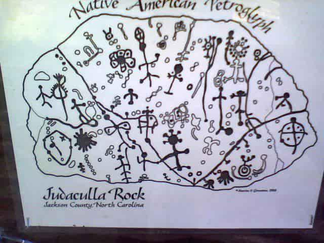 Judaculla Rock: Ο Βράχος των Cherokees με το ΜΗΝΥΜΑ «ΑΠΟ ΑΛΛΟΥ»