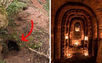 Ανακάλυψαν φωλιά λαγού που οδηγεί σε μυστική σπηλιά 700 ετών χτισμένη από Ιππότες