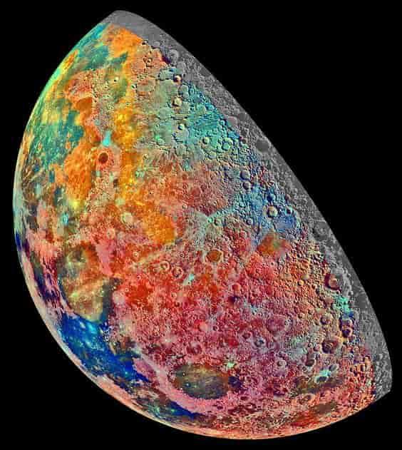 Η Σελήνη ΠΟΤΕ ΔΕΝ ΗΤΑΝ ΓΚΡΙΖΑ !!! Δείτε ΤΙ ΜΑΣ ΚΡΥΒΟΥΝ ΤΟΣΑ ΧΡΟΝΙΑ !!! (εικόνες)