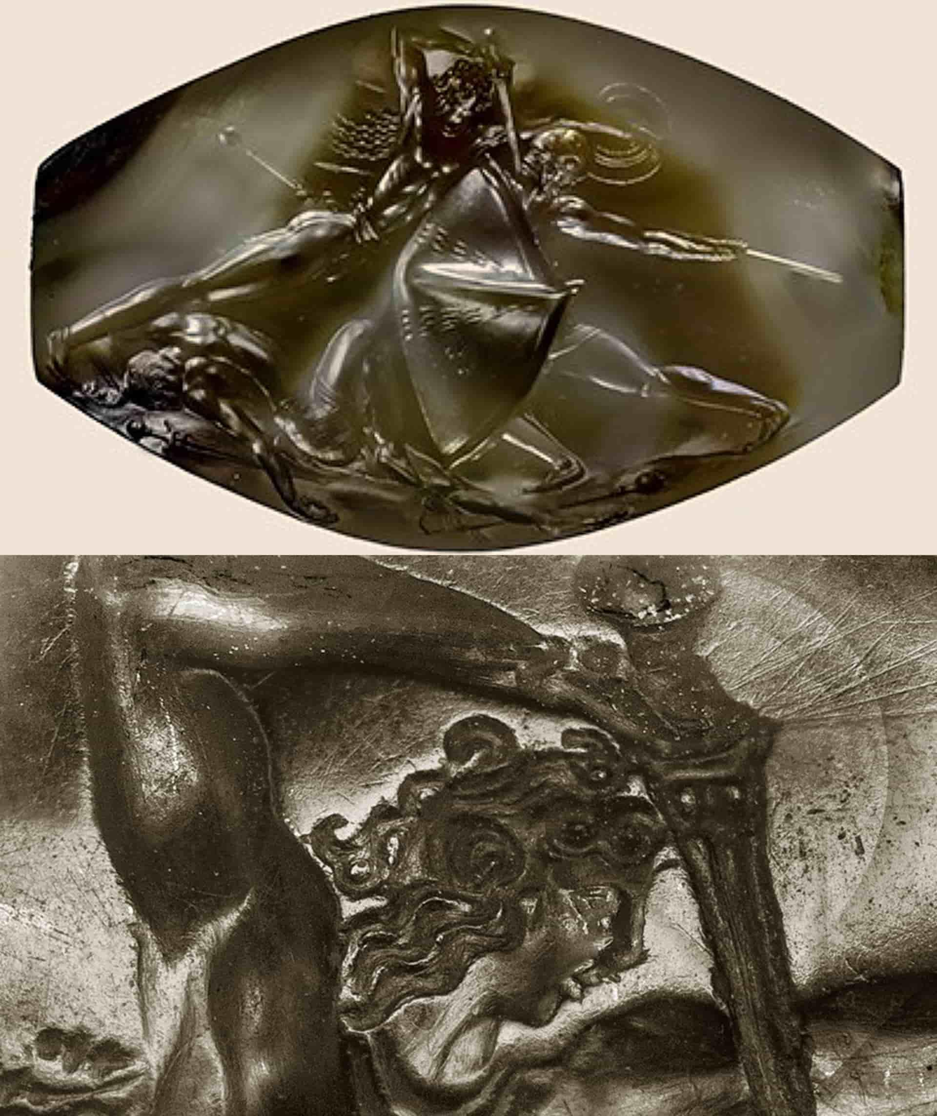 LASER και ΝΑΝΟΤΕΧΝΟΛΟΓΙΑ στον ΣΦΡΑΓΙΔΟΛΙΘΟ της ΠΥΛΟΥ του 1500 π.Χ.!!!