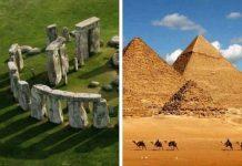 Δείτε τι Συμβαίνει Αν Ενώσουμε το Stonehenge και τις Πυραμίδες της Αιγύπτου σε ΜΙΑ ΝΟΗΤΗ ΕΥΘΕΙΑ!!!
