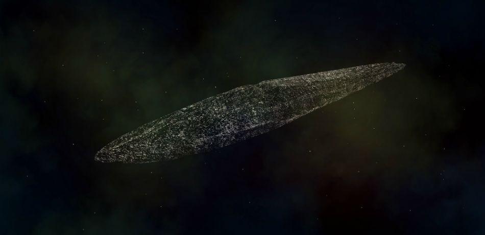 αστεροειδής Oumuamua
