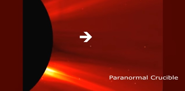 Γιγαντιαίος Κύβος στο Μέγεθος του Ποσειδώνα ΒΓΑΙΝΕΙ μέσα από τον Ήλιο (video)