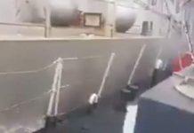Βίντεο: Η στιγμή που το τουρκικό σκάφος «ξύνει» την κανονιοφόρο «Νικηφόρος» στα Ιμια