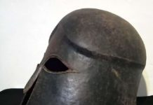 Σε 4 ημέρες ξεπουλιέται ένα αρχαίο κράνος του 5ου αι. π.Χ. από την Σπάρτη! Θα «πιάσει» 120.000 δολλάρια!