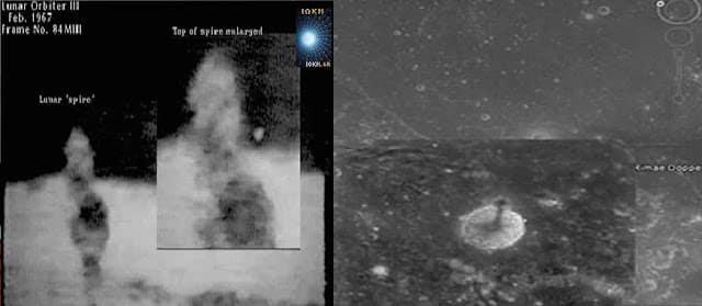 Βρέθηκε ένας γιγάντιος σπειροειδής πύργος στην επιφάνεια της σελήνης!! (Βίντεο)