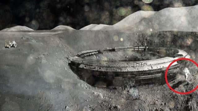 Πρώην αξιωματούχοι Αποκαλύπτουν το Καλύτερα Διατηρημένο Μυστικό της NASA: «Απομεινάρια ανθρώπινων Κατασκευών» στο Φεγγάρι