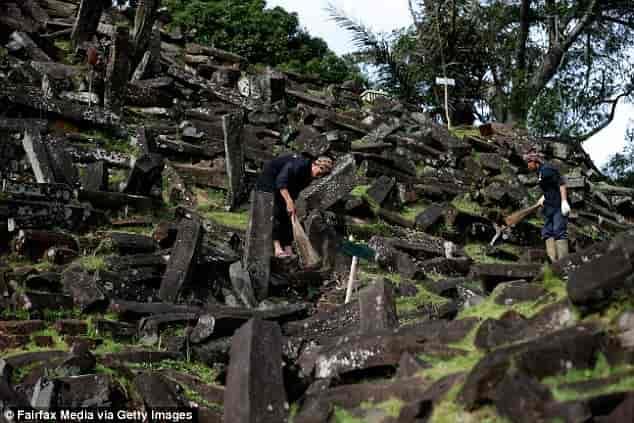 Δομή στην Ινδονησία Κρατάει το Μυστικό ενός Χαμένου Πολιτισμού 20.000 ετών