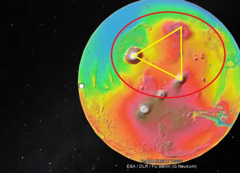 Μόλις είδε τι Σχηματίζει το Όρος Όλυμπος στον Άρη Κατάλαβε ότι Υπάρχει Κάτι Περισσότερο Εκεί, από όσα μας λένε!