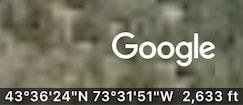 Αγνώστης Ταυτότητος Σφαίρα Πάνω από την Νέα Υόρκη, στο Google Earth (video)