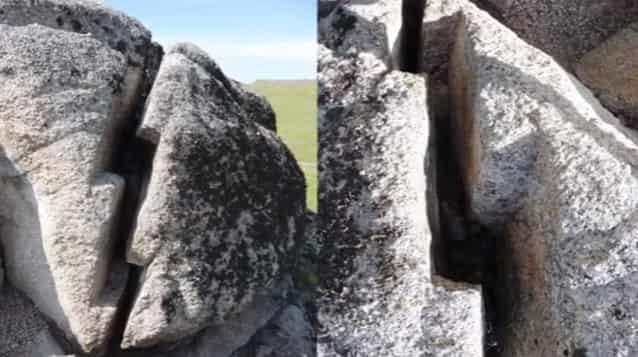 Ποιοι και Πως Έκοψαν Φέτες Αυτόν τον Βράχο πριν Χιλιάδες Χρόνια; (video)