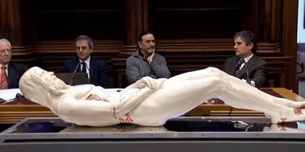 Αυτή είναι Ακριβής Ολόσωμη Απεικόνιση του Ιησού σε 3D από την Ιερά Σινδόνη (video)