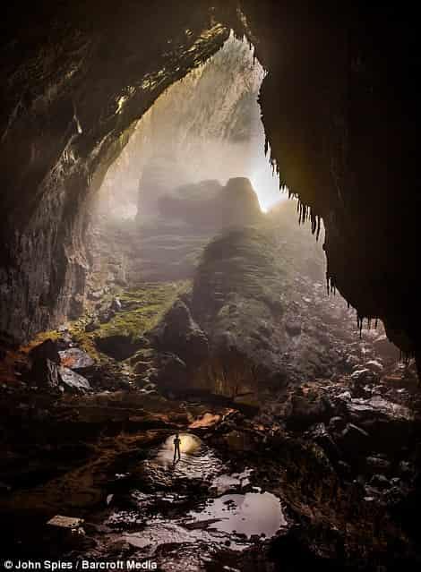 Έψαχνε Ξυλεία για να Επιβιώσει όταν Ανακάλυψε Έναν Κρυφό Κόσμο μίας«Άλλης Διάστασης»
