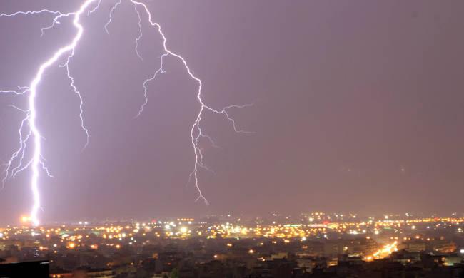 Έκτακτο Δελτίο Επιδείνωσης Καιρού με Χαλάζι, Ισχυρές Βροχές και καταιγίδες. Δείτε σε ποιές Περιοχές