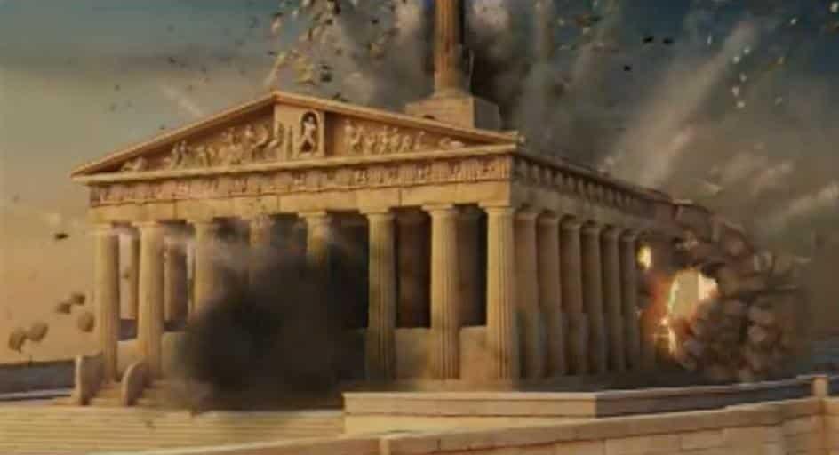Ανατίναξη της Ακρόπολης