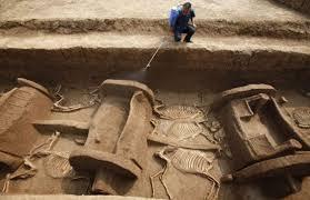 Τεράστια Ανακάλυψη στην Ινδία με Άρματα 4.000 ετών