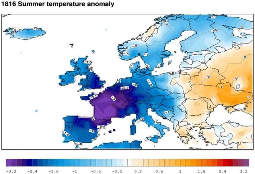 Η Χρονιά που ΔΕΝ Ήρθε Ποτέ το Καλοκαίρι. Τι Συνέβη Όταν η Ελλάδα είχε Μηδενικές θερμοκρασίες, Χιόνισε Ιούνιο, Καταιγίδες «Βούλιαξαν» την Ευρώπη