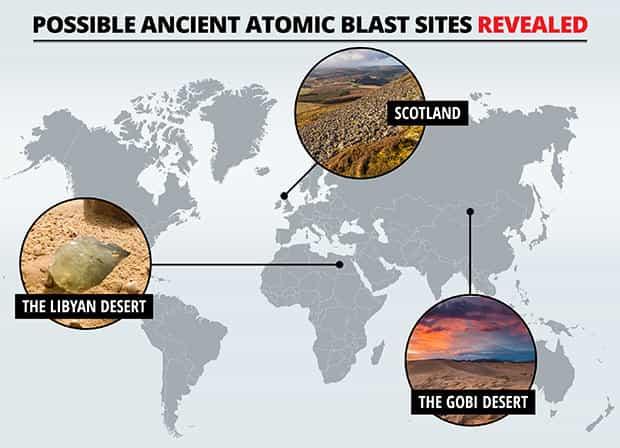 Εκεί που Έγιναν Πυρηνικοί Πόλεμοι στην Αρχαιότητα (video)