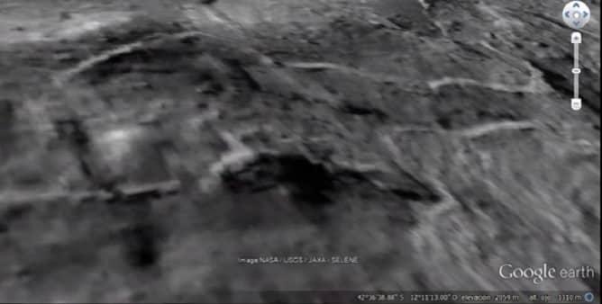 Εντοπίστηκε Μεγάλο Συγκρότημα Βάσεων στην Σελήνη