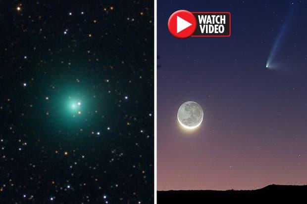 Πρασινωπό Αντικείμενο Μεγαλύτερο του Δία Πλησιάζει την Γη και Εμφανίστηκε από το Πουθενά (video)