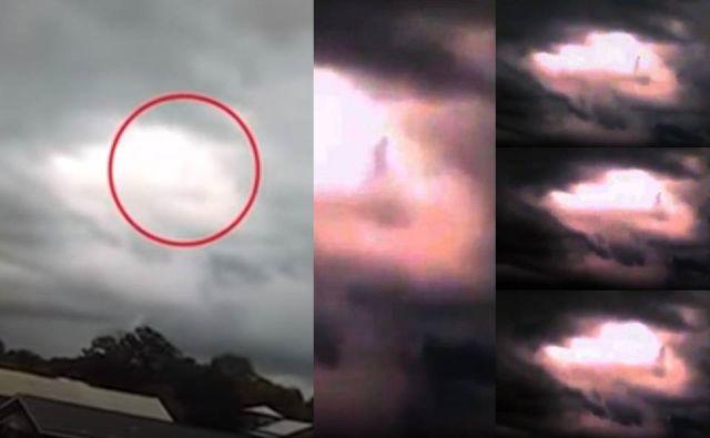 Ποιός Περπατάει στα Σύννεφα; Ένα Παράξενο Περιστατικό στην Αλαμπάμα (video)
