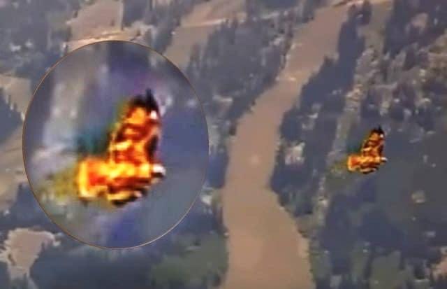 Εμφανίστηκε το Φλεγόμενο Μυθικό Πουλί Φοίνικας Πάνω από το Yellowstone (video)