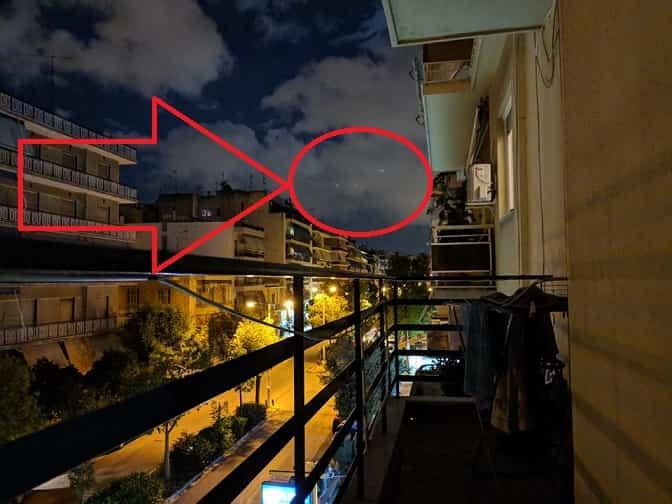 Εμφανίστηκαν Τέσσερα Άγνωστα Φώτα Πάνω από την Αθήνα (εικόνα)