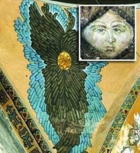 Το Ανεξήγητο Φαινόμενο στην Αγια Σοφια που Εμφανίστηκαν Σταυροί από το Πουθενά