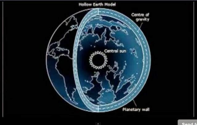 Το άνοιγμα που εντόπισε ο Ναύαρχος Μπιρντ για την Κούφια Γη σε φωτογραφίες της NASA, σύμφωνα με ισχυρισμούς