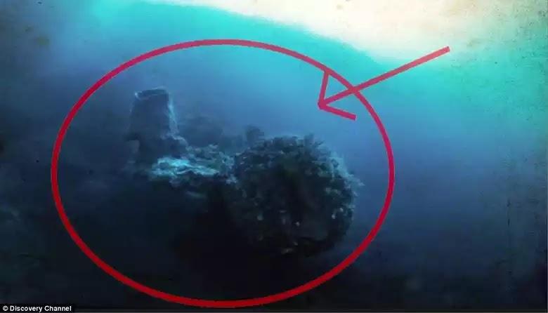 Ερευνητής του Discovery Channel Ανακάλυψε Αρχαίο Διαστημόπλοιο στον Βυθό του Τριγώνου των Βερμούδων, λέει