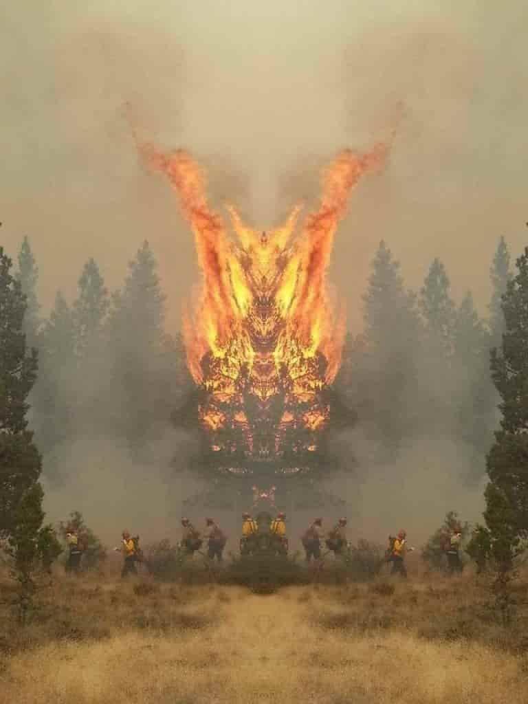 Τι Δείχνουν οι Φωτιές Μέσα από έναν Καθρέφτη