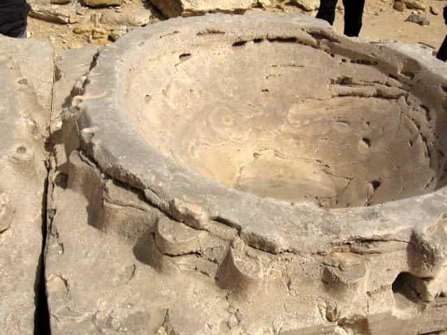 Τα Γιγαντιαία Πέτρινα Γρανάζια κοντά Στις Πυραμίδες Κρύβουν ένα Μεγαλιθικό ΥπερΜηχανισμό