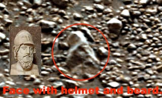 Κεφαλή Αρχαίας Ελληνικής Τέχνης Εντοπίστηκε στον Πλανήτη Άρη;