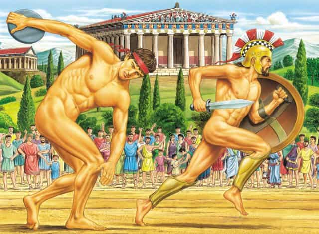 Οι Αρχαίοι Ολυμπιακοί Αγώνες ΔΕΝ Ξεκίνησαν Τότε που μας Λένε (video)