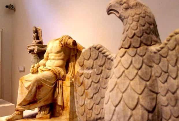 Ο Δίας και ο Θεϊκός Αετός του