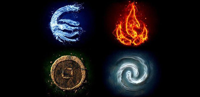 Ποιο Στοιχείο Είναι το Πνεύμα σας; Αέρας Νερό Γη Φωτιά;
