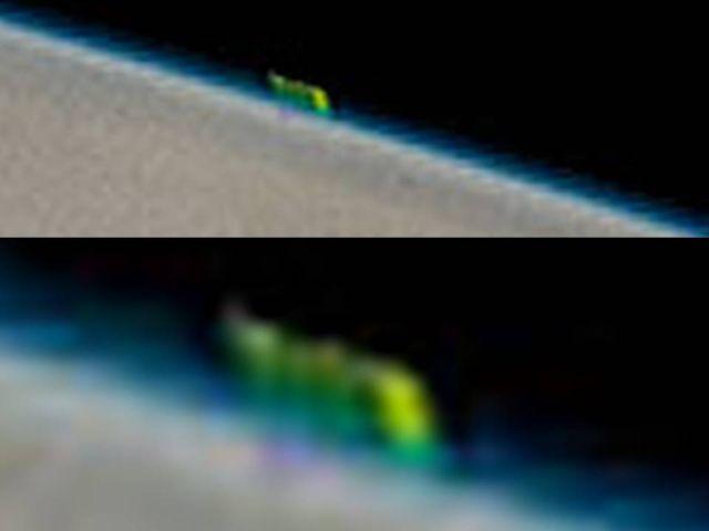 Μυστηριώδες Πράσινο Αντικείμενο Ξεμυτίζει στην Επιφάνεια του Δία σε Φωτογραφία της NASA