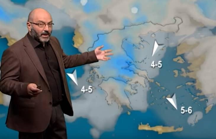 Σάκης Αρναούτογλου: Αλλάζει ο Καιρός και Σκηνικό Χειμώνα Έρχεται (video)