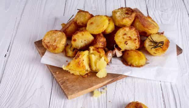 Φτιάχνω Νόστιμες Τηγανιτές Πατάτες στον Φούρνο!