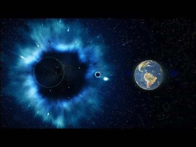 Ο Πλανήτης μας Περνάει Μέσα από Τυφώνα Σκοτεινής Ύλης