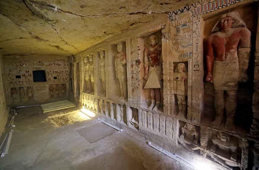 Ανακαλύφθηκε Εντυπωσιακός Τάφος 4.400 χρόνων στην Αίγυπτο (εικόνες)