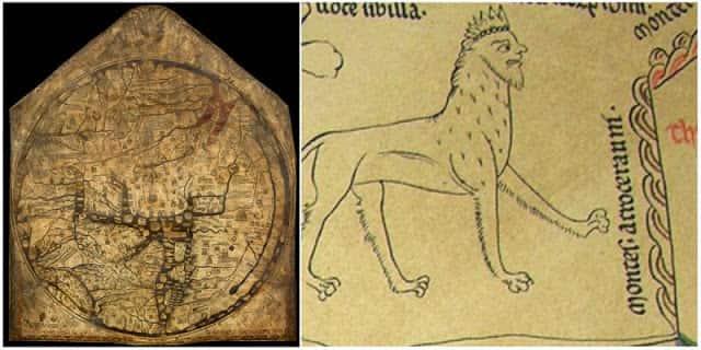 Ο Μυστηριώδης Χάρτης του Hereford και οι Παράξενες Πληροφορίες του