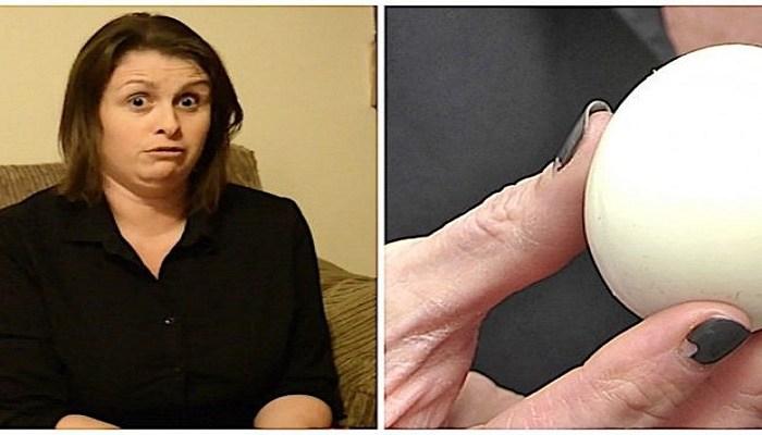 Δάγκωσε ένα Βραστό Αυγό και Παραλίγο να της Σπάσει το Δόντι. Μόλις Είδε ΤΙ είχε Μέσα, Δεν Πίστευε στα Μάτια της!